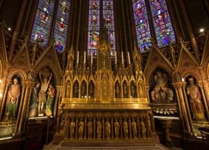 Maître autel basilique